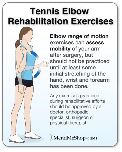 Tennis Elbow Rehabilitation Exercises