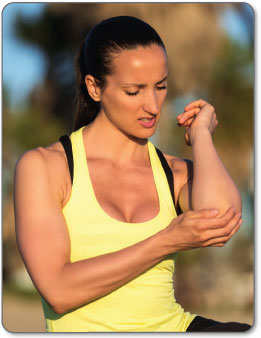 Symptoms of Golfers Elbow are different for everyone.