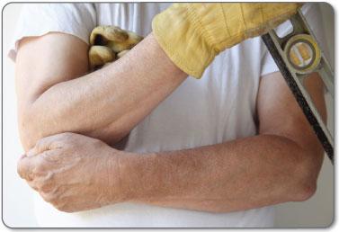 handyman construction hammer golfers elbow